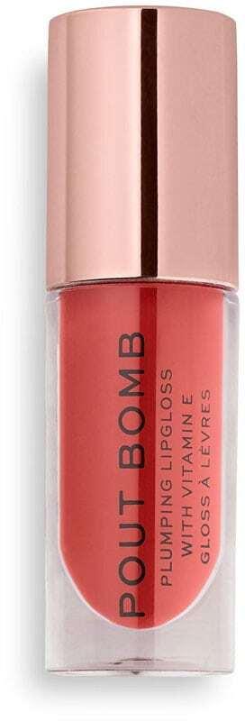 Makeup Revolution London Pout Bomb Lip Gloss Peachy 4,6ml