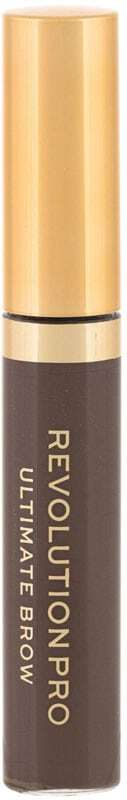 Makeup Revolution London Revolution PRO Ultimate Brow Eyebrow Mascara Dark Brown 5,8ml (Waterproof)