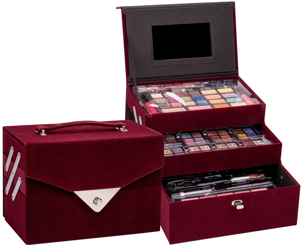 Makeup Trading Beauty Case Velvety Makeup Palette 78,3gr Combo: Complete Makeup Palette