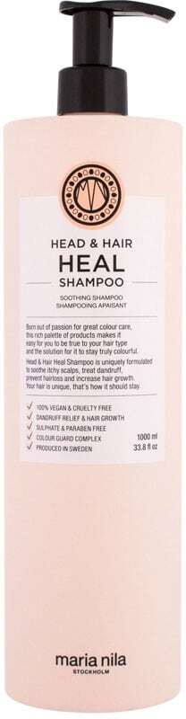 Maria Nila Head & Hair Heal Shampoo 1000ml (Sensitive Scalp - Dandruff)