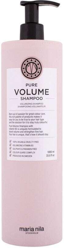Maria Nila Pure Volume Shampoo 1000ml (Fine Hair)