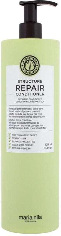 Maria Nila Structure Repair Conditioner 1000ml (Weak Hair - Damaged Hair - Dry Hair)