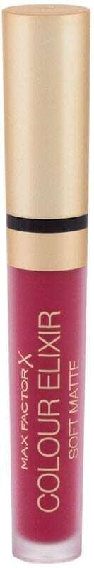 Max Factor Colour Elixir Soft Matte Lipstick 025 Raspberry Haze 4ml