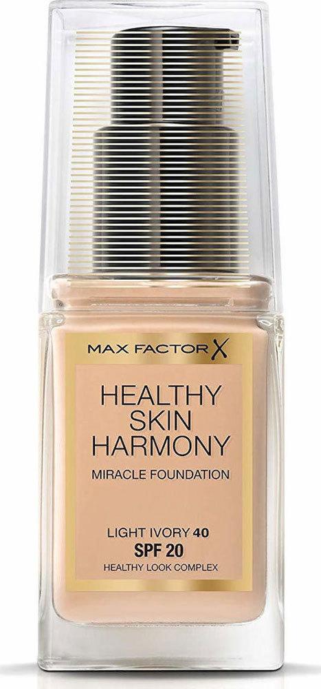 Max Factor Healthy Skin Harmony SPF20 Makeup 40 Light Ivory 30ml