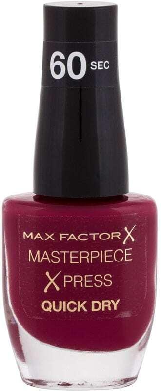 Max Factor Masterpiece Xpress Quick Dry Nail Polish 340 Berry Cute 8ml