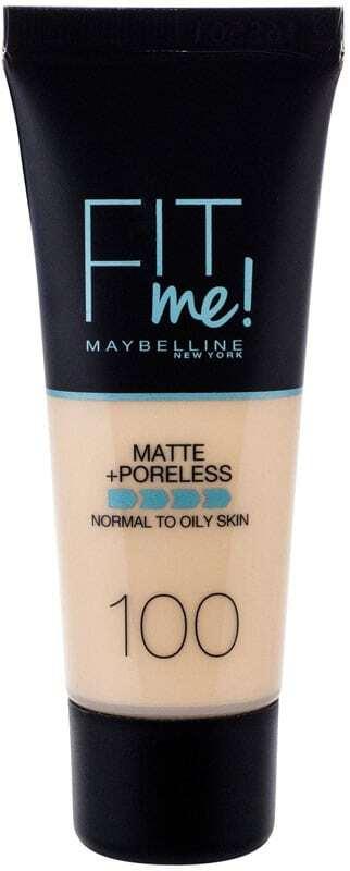 Maybelline Fit Me! Matte + Poreless Makeup 100 Warm Ivory 30ml