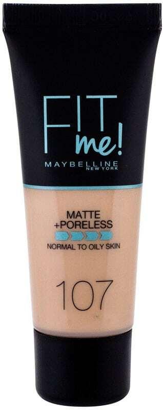 Maybelline Fit Me! Matte + Poreless Makeup 107 Rose Beige 30ml