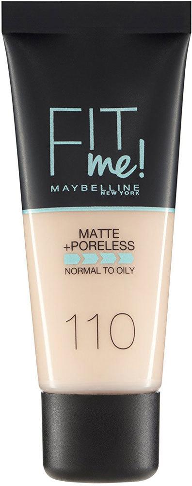 Maybelline Fit Me! Matte + Poreless Makeup 110 Porcelain 30ml