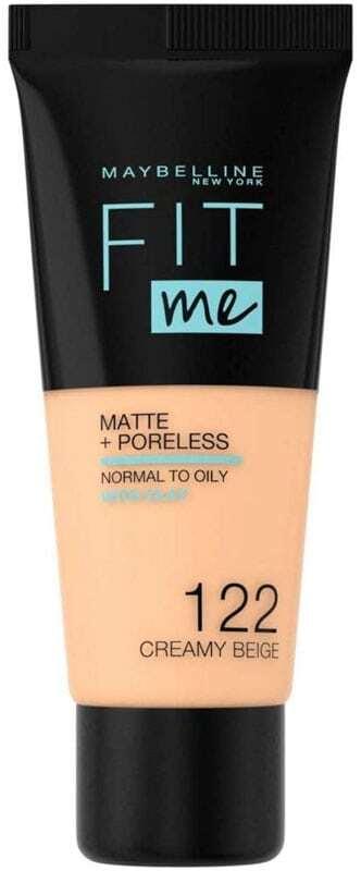 Maybelline Fit Me! Matte + Poreless Makeup 122 Creamy Beige 30ml