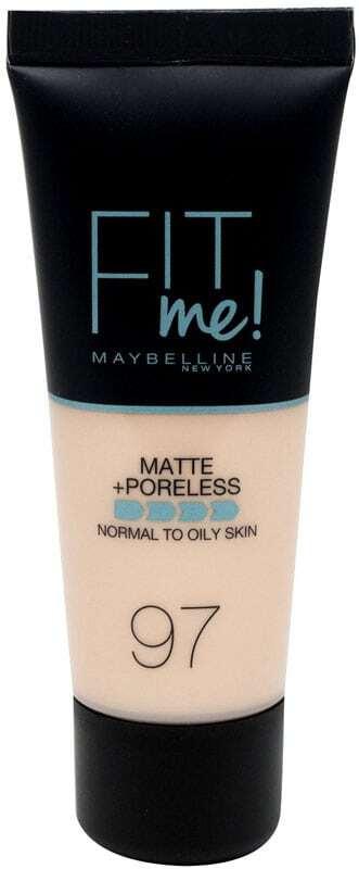 Maybelline Fit Me! Matte + Poreless Makeup 97 Natural Porcelain 30ml