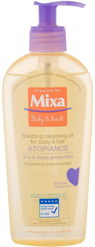 Mixa Atopiance Soothing Cleansing Oil Shower Oil 250ml
