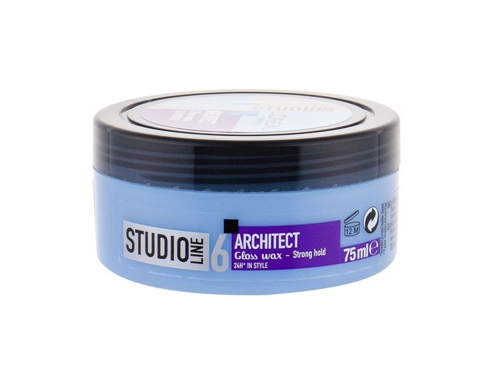 L/oreal Paris Studio Line Architect Hair Wax 75ml 24h (Strong Fixation)