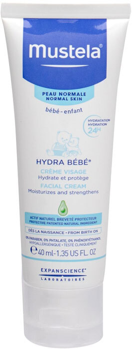 Mustela Hydra Bébé Facial Cream Day Cream 40ml (For All Ages)