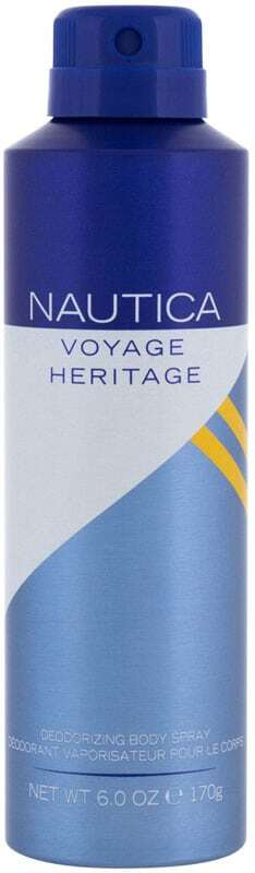 Nautica Voyage Heritage Deodorant 170gr (Deo Spray)