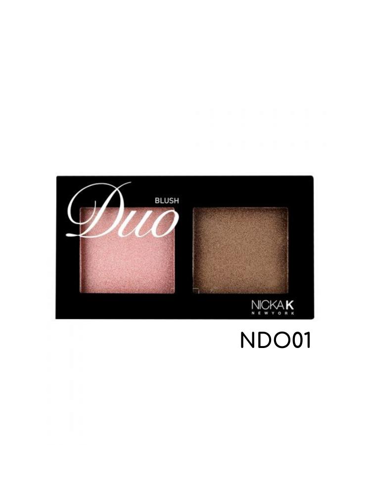 Nicka K New York Duo Blush-NDO01 2gr