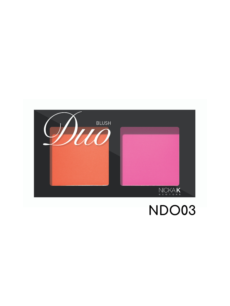 Nicka K New York Duo Blush-NDO03 2gr