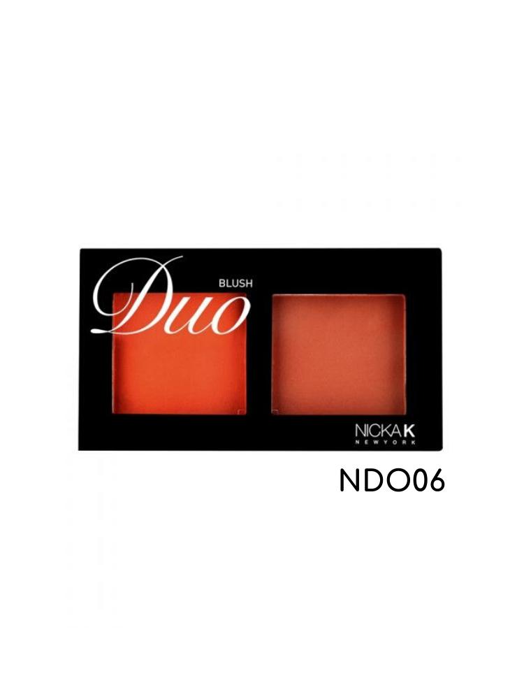 Nicka K New York Duo Blush-NDO06 2gr