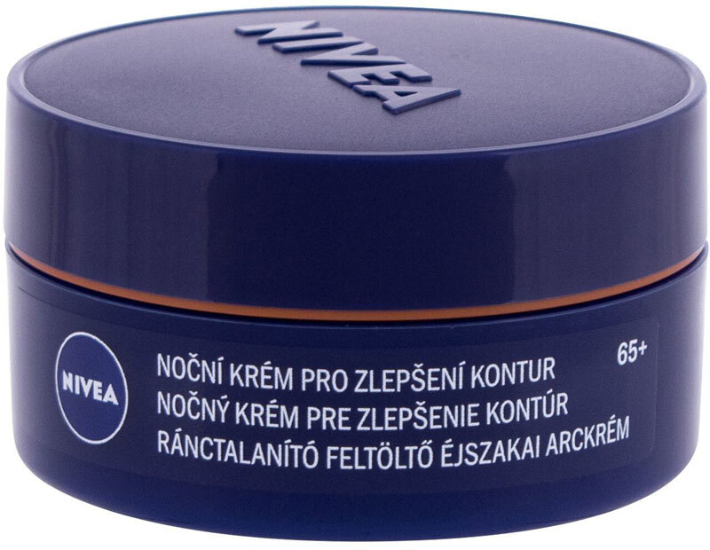 Nivea Anti Wrinkle + Contouring 65+ Night Skin Cream 50ml (Mature Skin)
