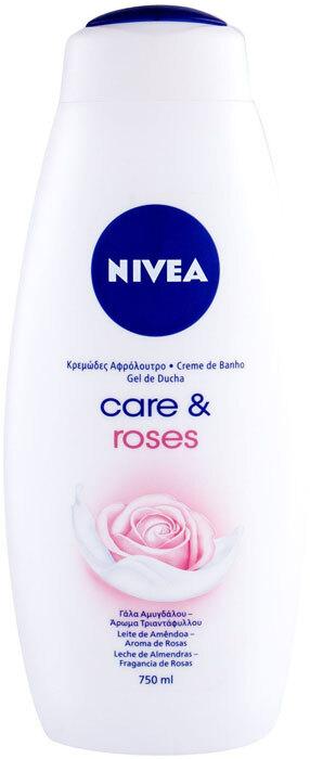 Nivea Care & Roses Shower Cream 750ml