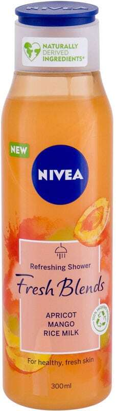 Nivea Fresh Blends Apricot Shower Gel 300ml