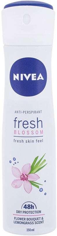Nivea Fresh Blossom 48h Antiperspirant 150ml (Deo Spray)