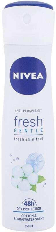 Nivea Fresh Gentle 48h Antiperspirant 150ml (Deo Spray)