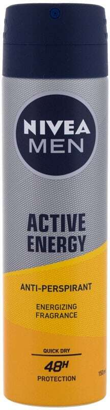 Nivea Men Active Energy 48H Antiperspirant 150ml (Deo Spray)