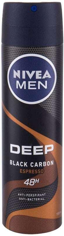 Nivea Men Deep Espresso 48h Antiperspirant 150ml (Deo Spray - Alcohol Free)