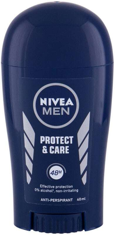 Nivea Men Protect & Care 48h Antiperspirant 40ml (Deostick - Alcohol Free)