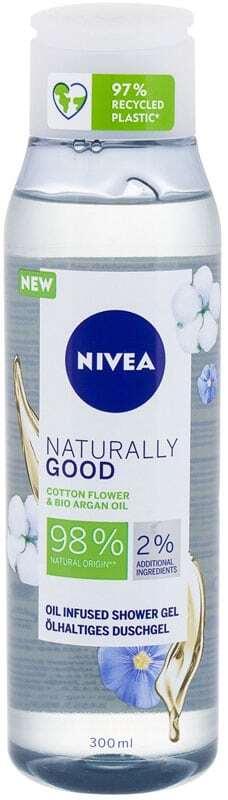 Nivea Naturally Good Cotton Flower Shower Gel 300ml
