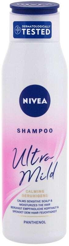 Nivea Ultra Mild Calming Shampoo 300ml (Sensitive Scalp - All Hair Types)