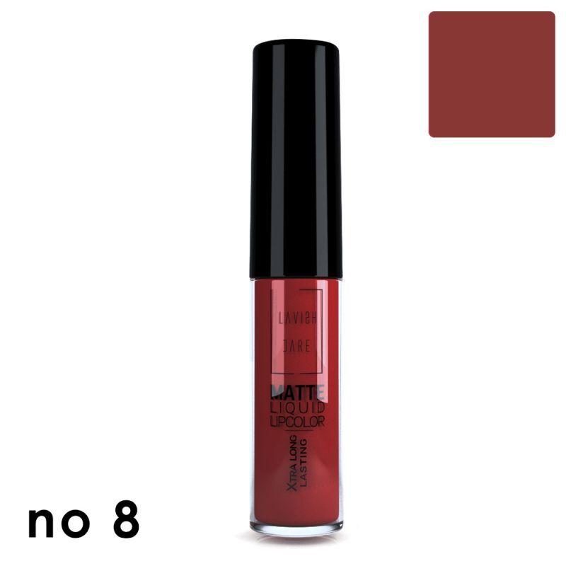 Lavish Care Matte Liquid Lipcolor No 8
