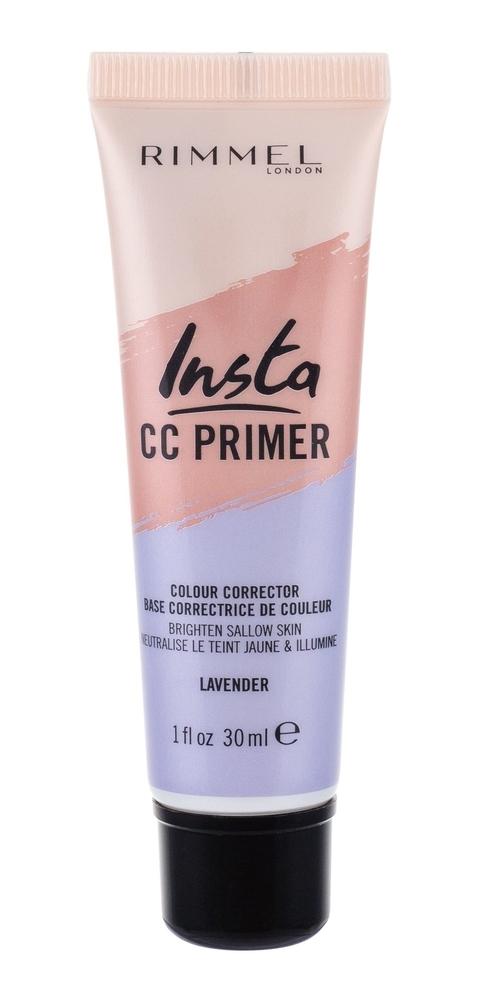 Rimmel London Insta Cc Primer Makeup Primer 30ml Lavender
