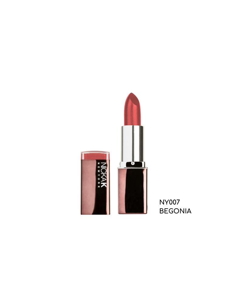 Nicka K New York Hydro Lipstick - Ruby-BEGONIA NY007 3,3GR