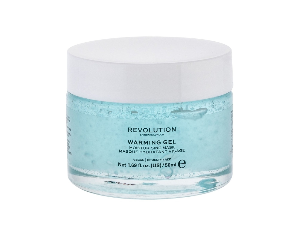 Makeup Revolution London Skincare Warming Gel Face Mask 50ml (Dry - Very Dry - For All Ages)