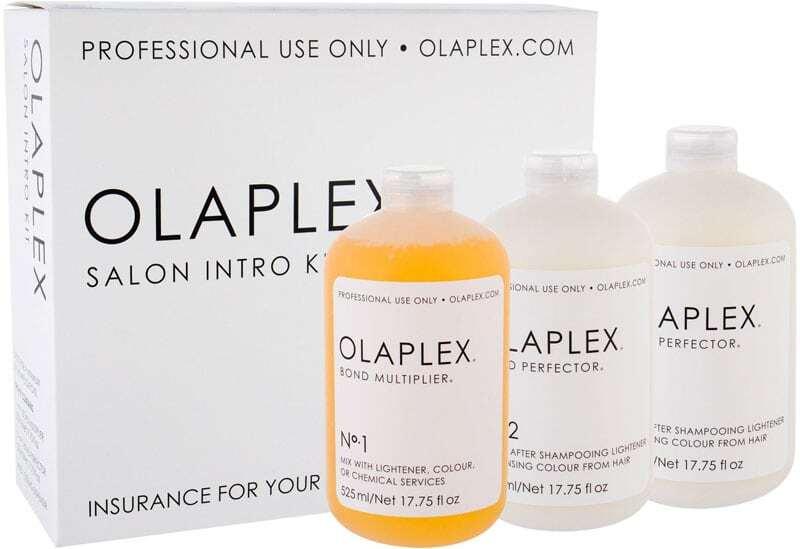 Olaplex Bond Multiplier No. 1 Salon Intro Kit Hair Serum 525ml Combo: Bond Multiplier No. 1 525 Ml + Bond Perfector No. 2 2 X 525 Ml + Dosing Dispenser Damaged Box