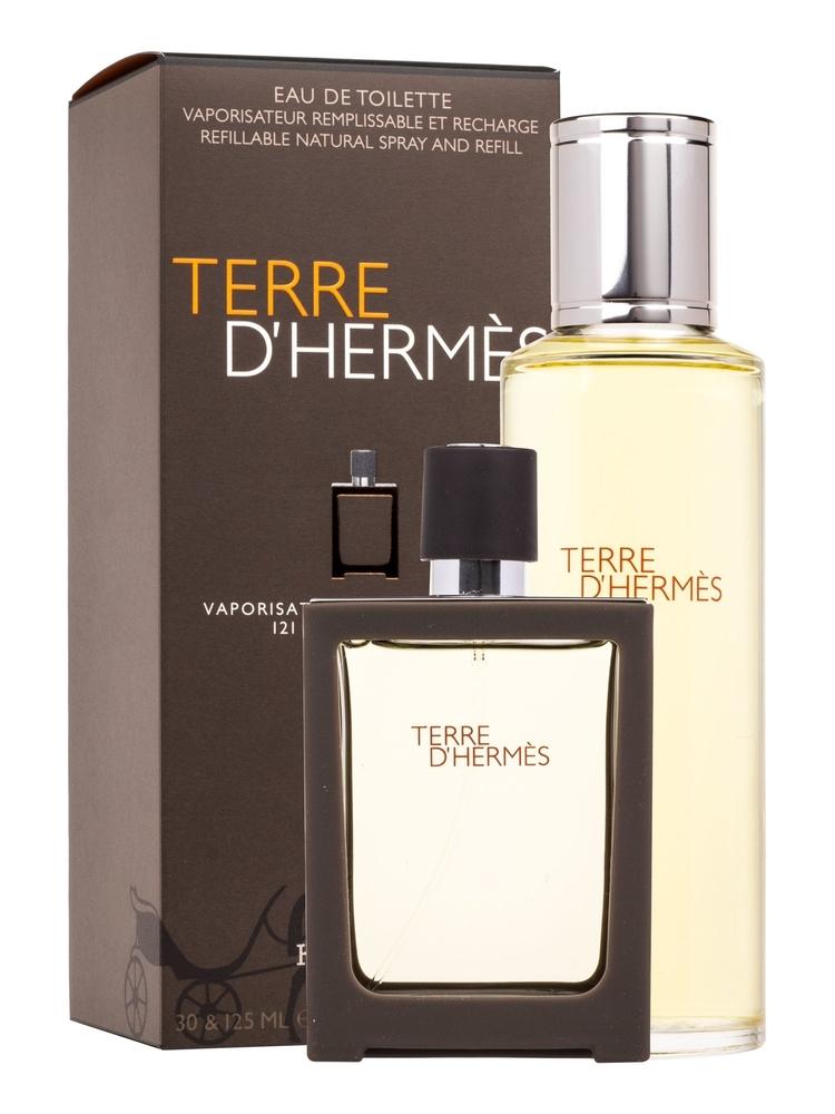 Hermes Terre D/ Eau De Toilette 30ml Combo: Edt 30ml + 125ml Edt Refill
