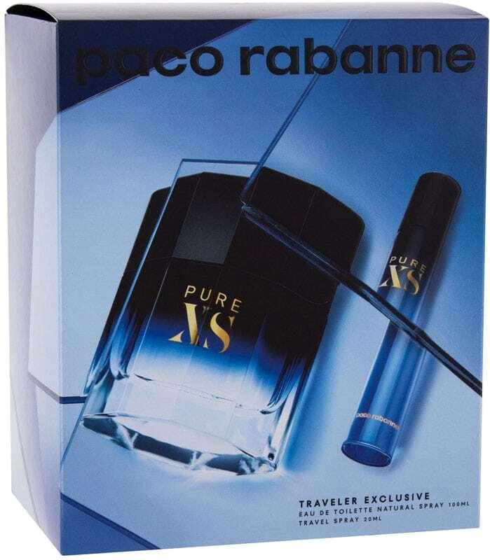 Paco Rabanne Pure XS Combo Eau de Toilette 100ml + Eau de Toilette 20ml