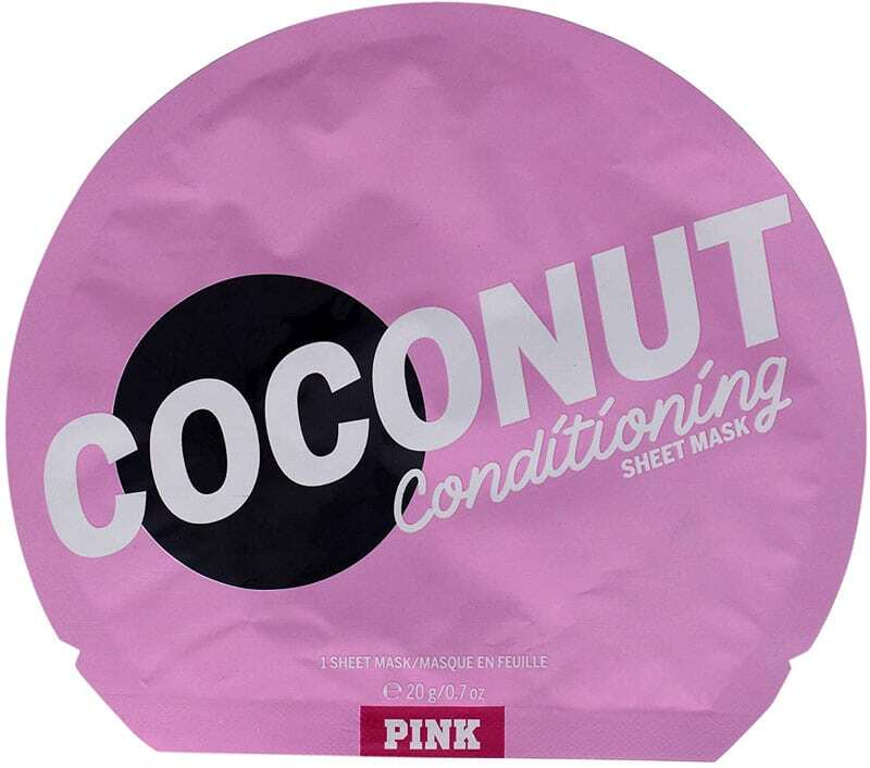 Pink Coconut Conditioning Sheet Mask Face Mask 1pc (For All Ages)