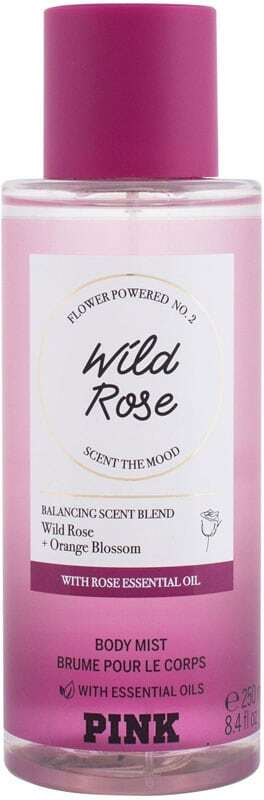 Pink Wild Rose Body Spray 250ml