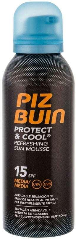Piz Buin Protect & Cool SPF15 Sun Body Lotion 150ml (Waterproof)
