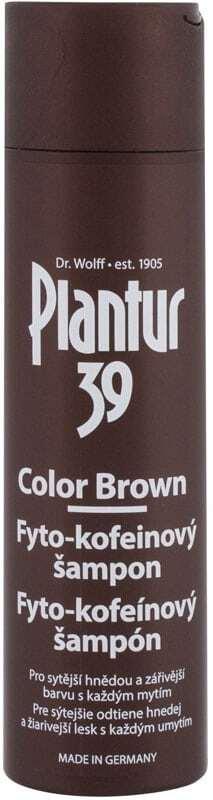 Plantur 39 Phyto-Coffein Color Brown Shampoo 250ml (Colored Hair - Anti Hair Loss)