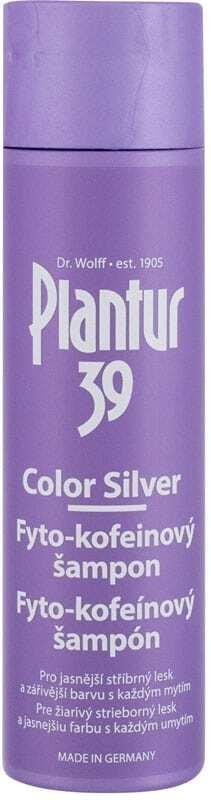Plantur 39 Phyto-Coffein Color Silver Shampoo 250ml (Blonde Hair - Anti Hair Loss - Grey Hair)