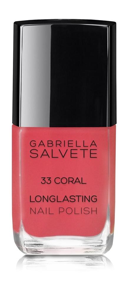 Gabriella Salvete Longlasting Enamel Nail Polish 11ml 33 Coral