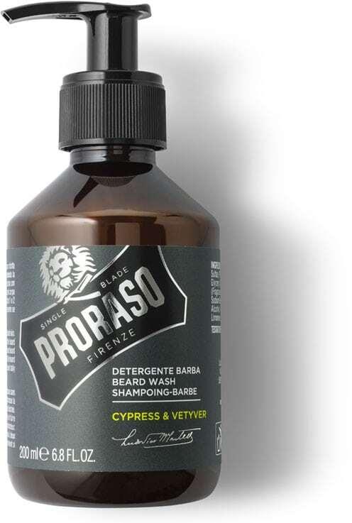 Proraso Cypress & Vetyver Beard Wash Shampoo 200ml