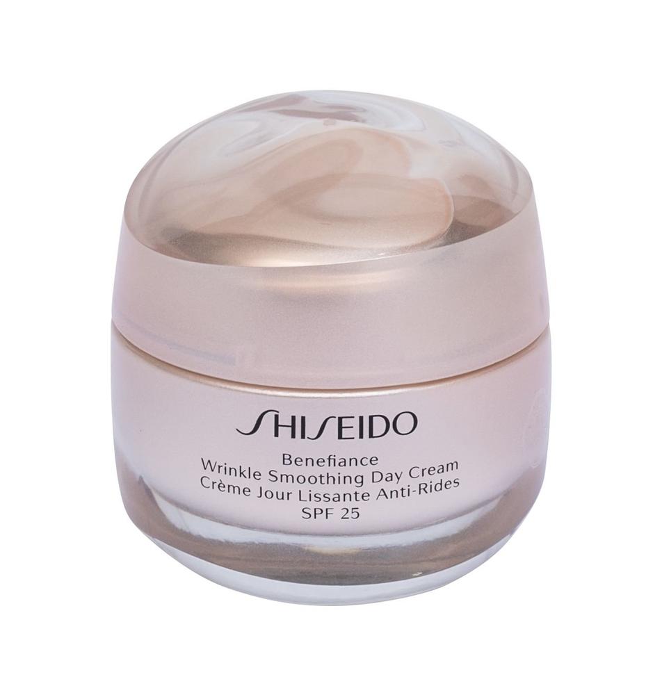 Shiseido Benefiance Wrinkle Smoothing Day Cream 50ml Spf25 (First Wrinkles - Wrinkles - Mature Skin - All Skin Types)