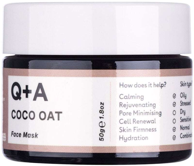 Q+a Coco Oat Face Mask 50gr (For All Ages)