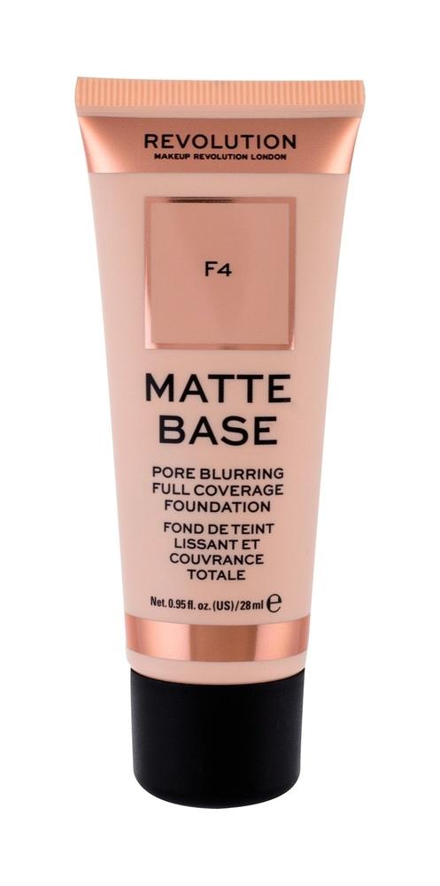 Makeup Revolution London Matte Base Makeup 28ml F4
