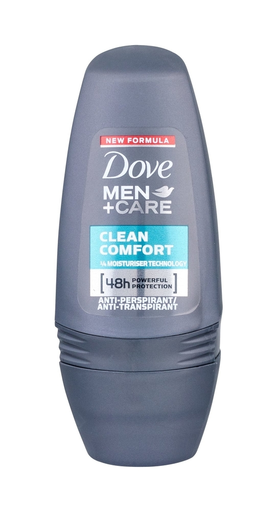 Dove Men + Care Clean Comfort Antiperspirant 50ml Alcohol Free 48h (Roll-on)