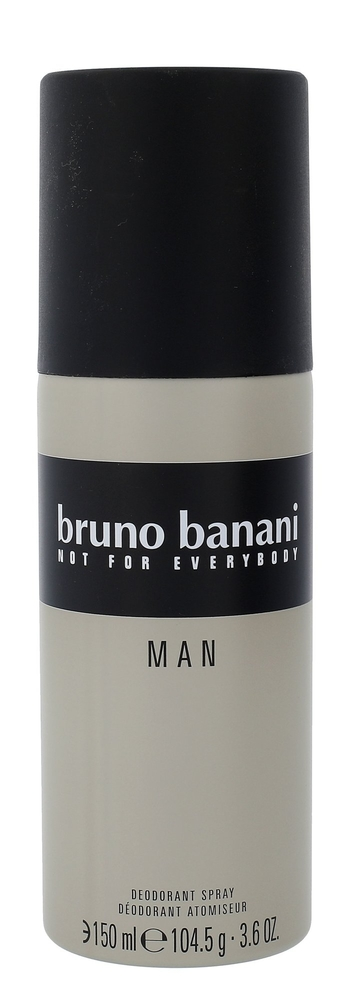 Bruno Banani Man Deodorant 150ml Aluminum Free (Deo Spray)